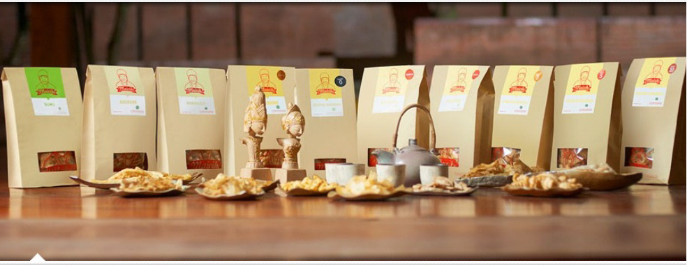 Keripik Maicih Paperbag Logo Hadap Depan Jual Maicih